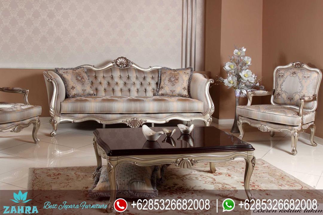 Set sofa tamu klasik modern ukiran jepara duco mewah for Sofa klasik